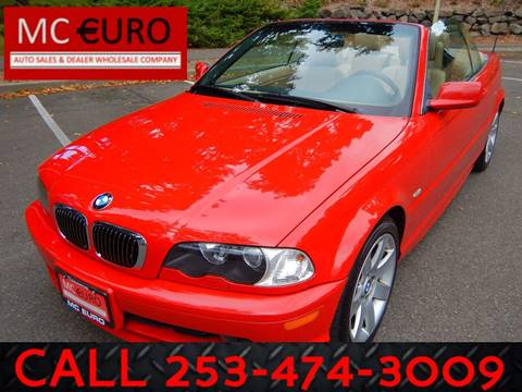 2002 BMW 3 Series for sale in Tacoma, WA