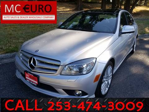 2008 Mercedes-Benz C-Class for sale at MC EURO in Tacoma WA
