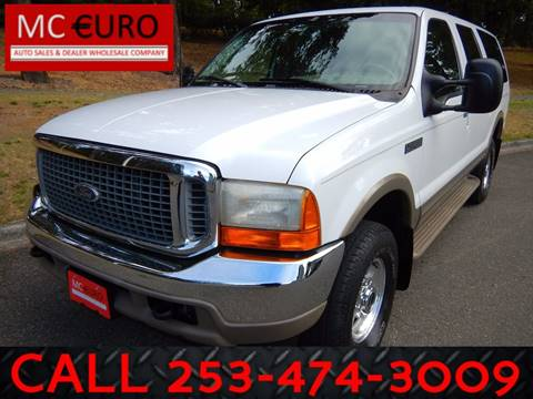 2000 Ford Excursion for sale in Tacoma, WA
