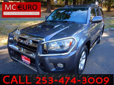 2009 Toyota 4Runner for sale in Tacoma, WA