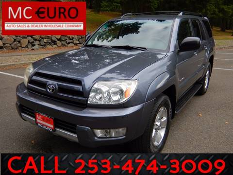 2004 Toyota 4Runner for sale in Tacoma, WA
