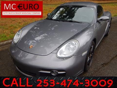 2007 Porsche Cayman for sale in Tacoma, WA