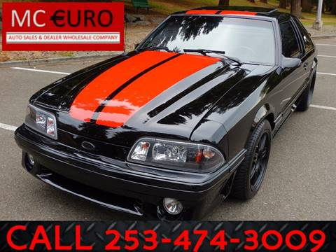 1991 Ford Mustang for sale in Tacoma, WA