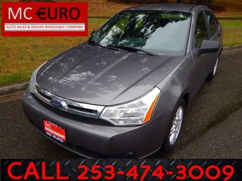 2010 Ford Focus for sale in Tacoma, WA