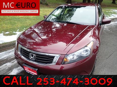 2010 Honda Accord for sale in Tacoma, WA