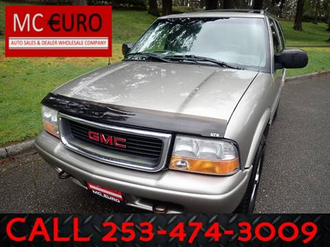 1999 GMC Jimmy for sale in Tacoma, WA
