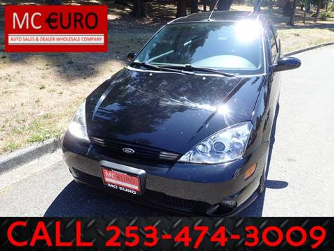 2003 Ford Focus SVT for sale in Tacoma, WA