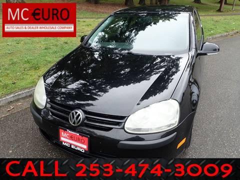 2008 Volkswagen Rabbit for sale in Tacoma, WA