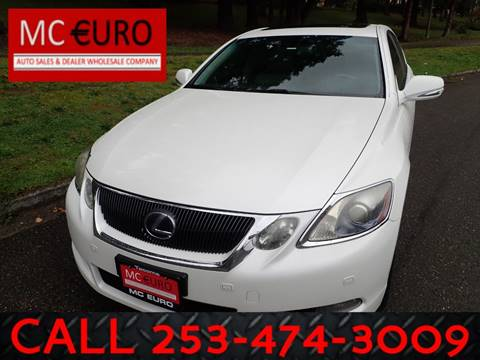 2009 Lexus GS 450h for sale in Tacoma, WA