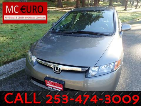 2007 Honda Civic for sale in Tacoma, WA