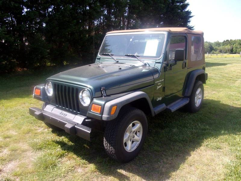 2001 Jeep Wrangler for sale at European Coach Werkes, Inc in Frankford DE
