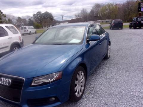 2009 Audi A4 for sale at European Coach Werkes, Inc in Frankford DE