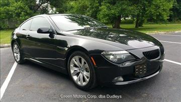 2008 BMW 6 Series for sale in Winchester, VA