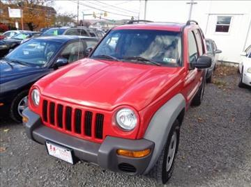2003 Jeep Liberty for sale in Wilkes-Barre, PA