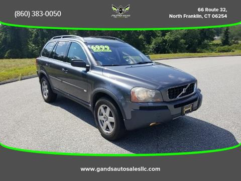 2006 Volvo XC90 for sale in North Franklin CT