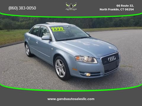 2006 Audi A4 for sale in North Franklin CT
