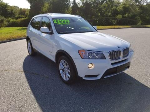 2011 BMW X3 for sale in North Franklin CT
