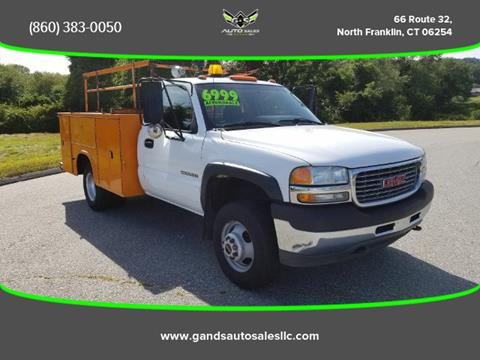 2002 GMC Sierra 1500HD Classic for sale in North Franklin CT