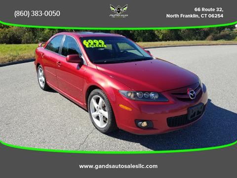 2006 Mazda MAZDA6 for sale in North Franklin CT