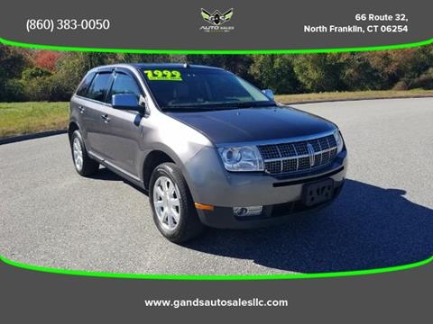 2010 Lincoln MKX for sale in North Franklin CT