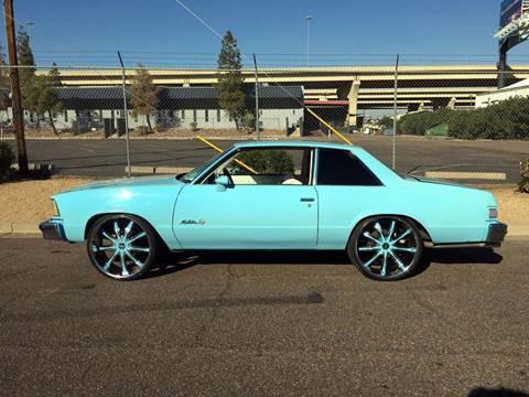 1979 Chevrolet Malibu for sale at AZ Classic Rides in Scottsdale AZ