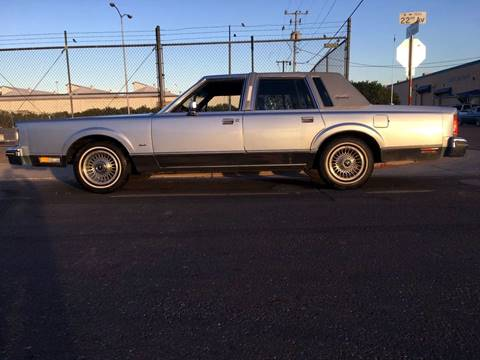 1984 Lincoln Town Car for sale at AZ Classic Rides in Scottsdale AZ