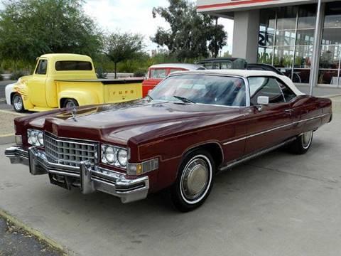 1973 Cadillac Eldorado For Sale In Arizona Carsforsale Com