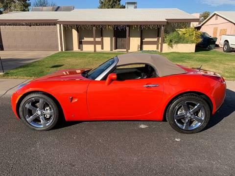 2008 Pontiac Solstice for sale at AZ Classic Rides in Scottsdale AZ