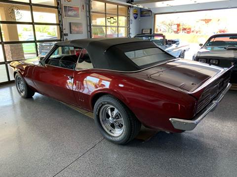 1968 Pontiac Firebird for sale at AZ Classic Rides in Scottsdale AZ