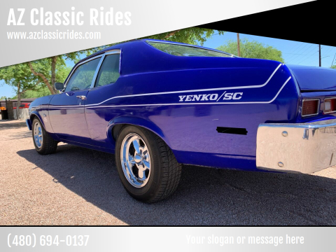 1973 Chevrolet Nova for sale at AZ Classic Rides in Scottsdale AZ