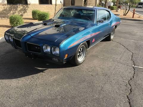 1970 Pontiac GTO For Sale  Carsforsalecom