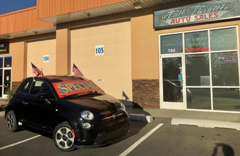 2014 FIAT 500e for sale in Tacoma WA