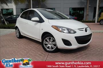 2014 Mazda MAZDA2 for sale in Fort Lauderdale, FL