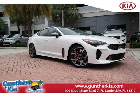Kia South Miami >> Used Kia Stinger For Sale In Miami Fl Carsforsale Com