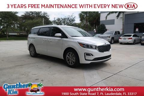 2020 Kia Sedona for sale in Fort Lauderdale, FL