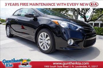 2016 Kia Forte Koup for sale in Fort Lauderdale, FL