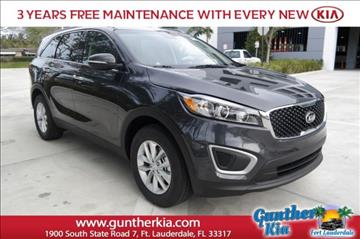 2017 Kia Sorento for sale in Fort Lauderdale, FL