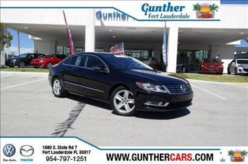 2014 Volkswagen CC for sale in Fort Lauderdale, FL