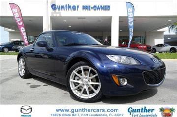 2012 Mazda MX-5 Miata for sale in Fort Lauderdale, FL