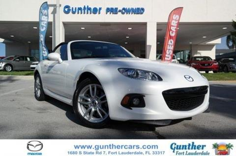 2014 Mazda MX-5 Miata for sale in Fort Lauderdale, FL