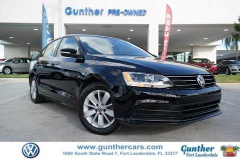 2015 Volkswagen Jetta for sale in Fort Lauderdale, FL