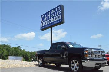2014 Chevrolet Silverado 1500 for sale at C & H AUTO SALES in Troy AL