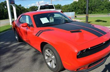 2016 Dodge Challenger for sale at C & H AUTO SALES in Troy AL