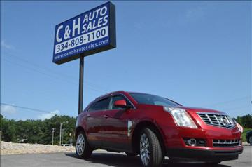 2014 Cadillac SRX for sale at C & H AUTO SALES in Troy AL