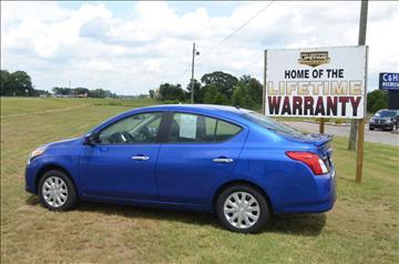 2016 Nissan Versa for sale at C & H AUTO SALES - Daleville in Daleville AL