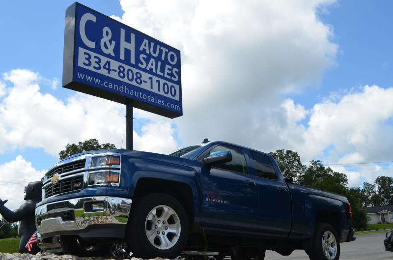 2015 Chevrolet Silverado 1500 for sale at C & H AUTO SALES in Troy AL