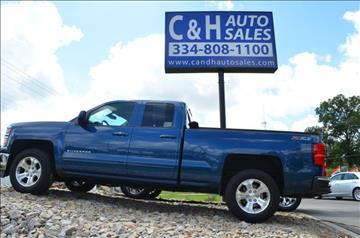 2015 Chevrolet Silverado 1500 for sale at C & H AUTO SALES in Troy AL