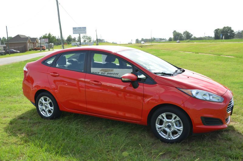 2015 Ford Fiesta for sale at C & H AUTO SALES - Daleville in Daleville AL
