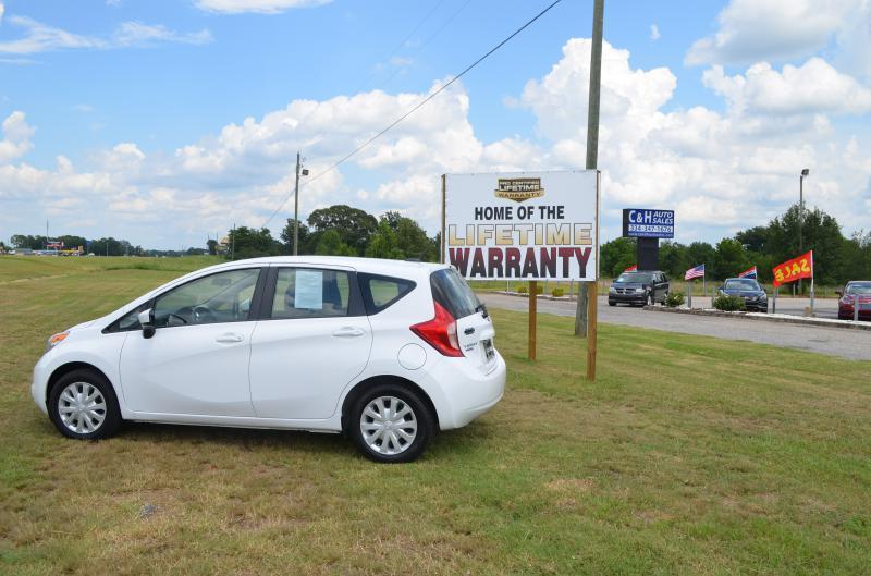2016 Nissan Versa Note for sale at C & H AUTO SALES - Daleville in Daleville AL