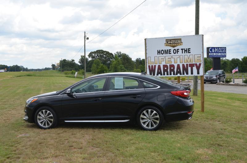 2015 Hyundai Sonata for sale at C & H AUTO SALES - Daleville in Daleville AL